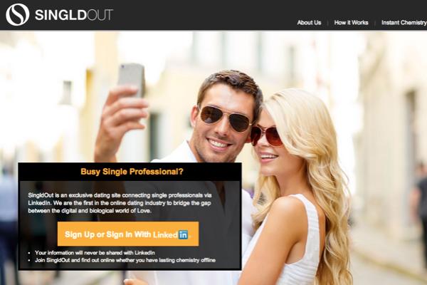 Dating site through linkedin