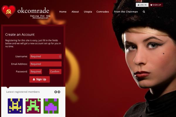 Okcomrade dating site