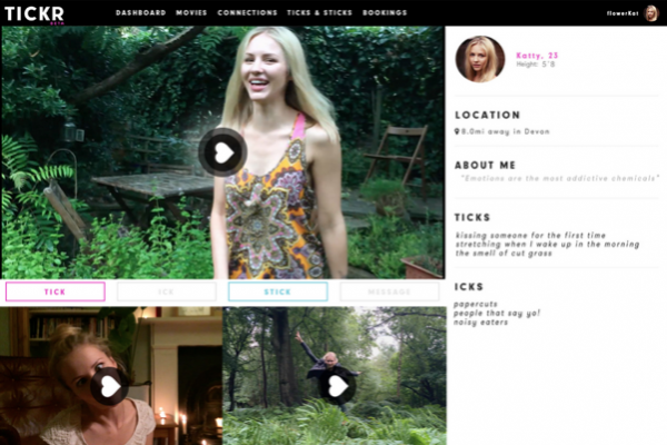 Tickr Builds Profiles With Vine-Style Videos