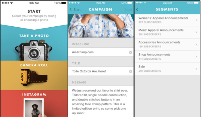 MailChimp Release App For Quick Visual Campaigns Global Dating - Mailchimp press release template