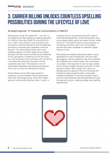 Mobile dating industry report