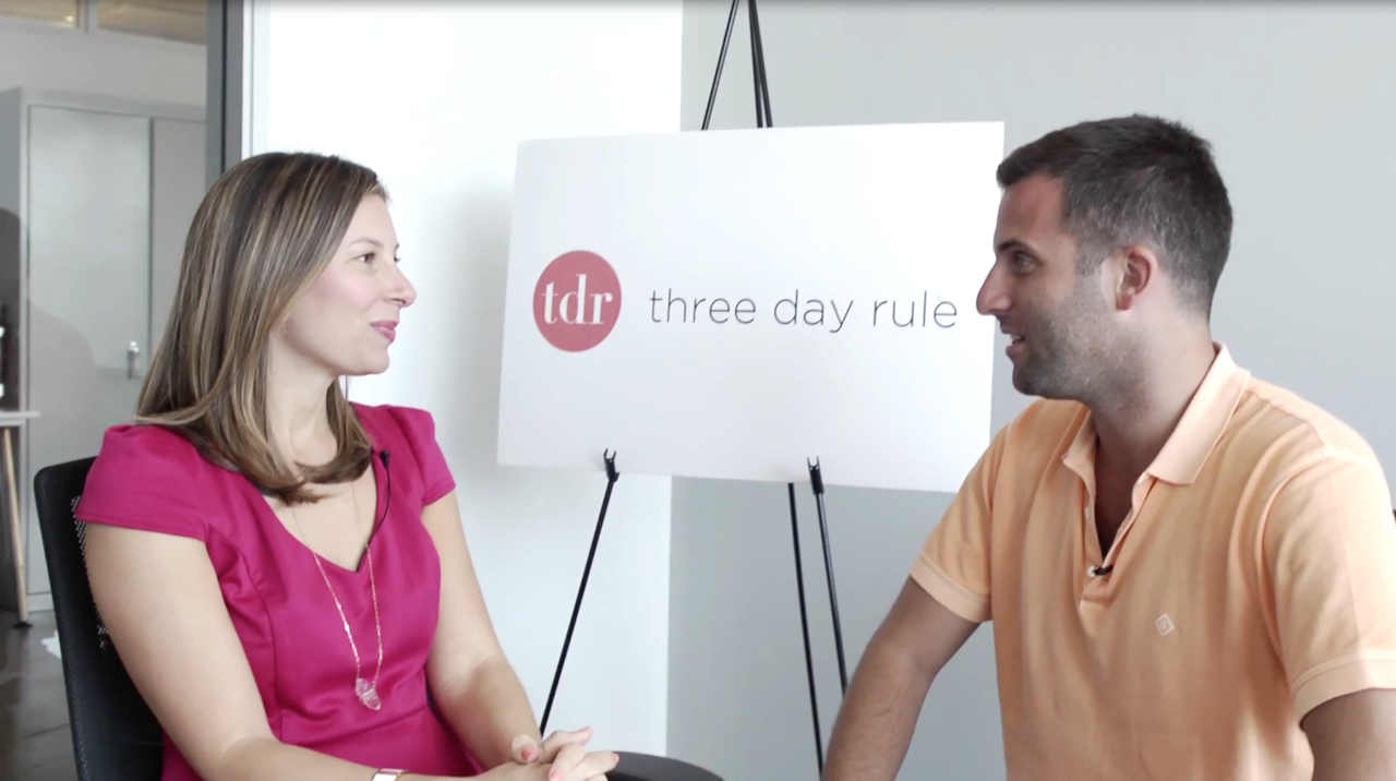 three day rule dating site