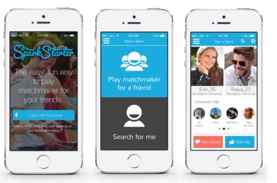 SparkStarter Lets Your Friends Influence Match Compatibility