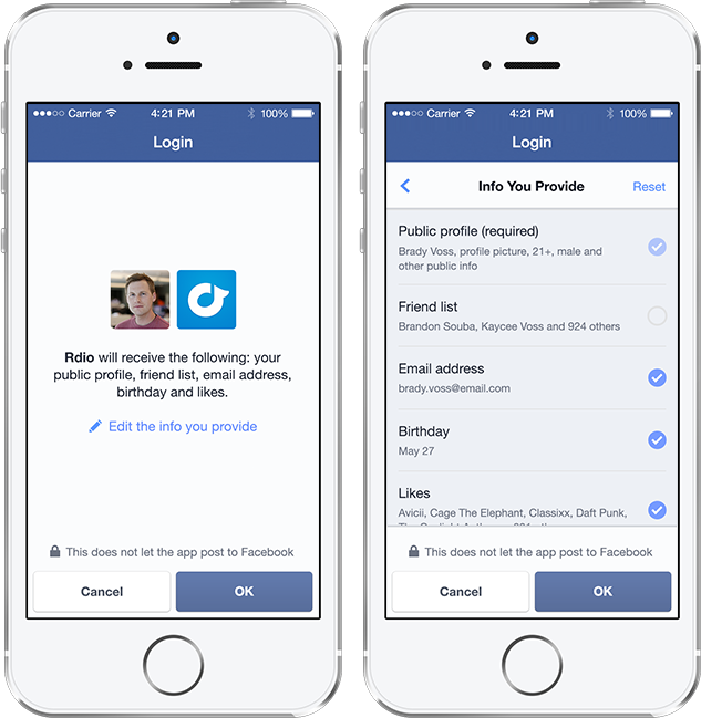 dating apps through facebook