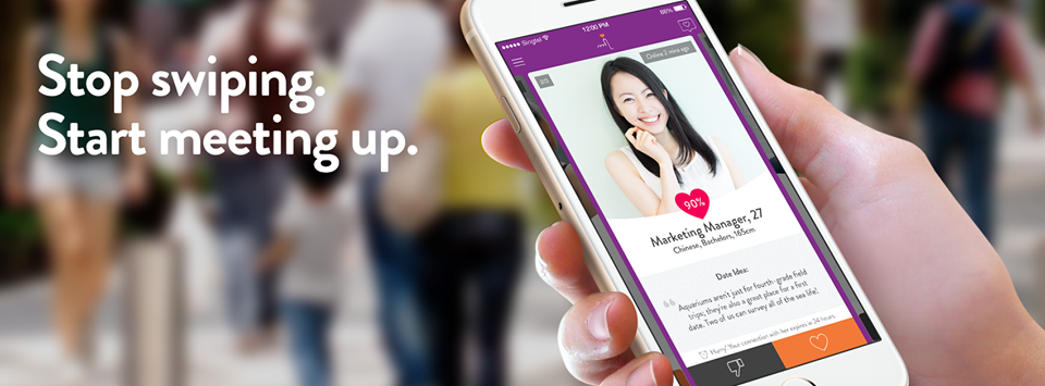 Singaporean App LunchClick Encourages Offline Dating
