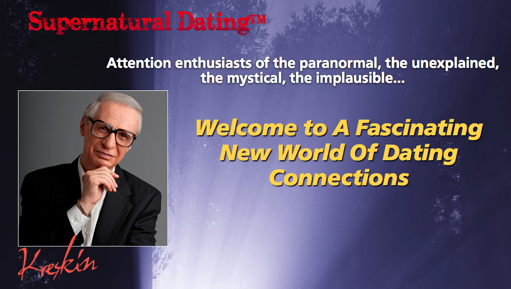 Supernatural dating society