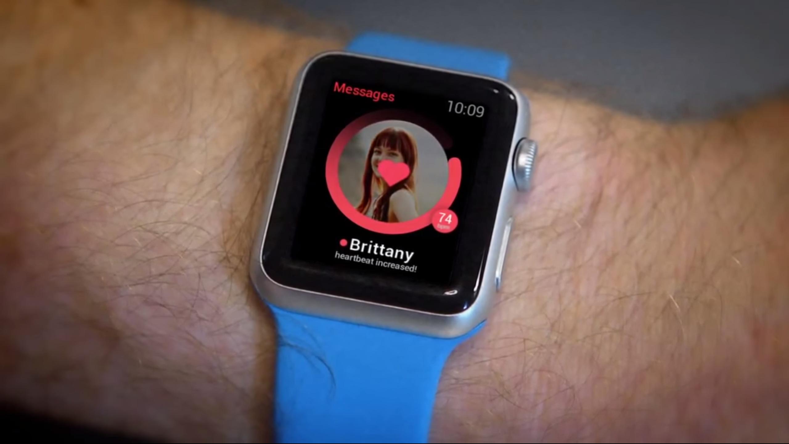 Ingenious Apple Watch Hack Lets Your Heart Swipe Right - Global ...