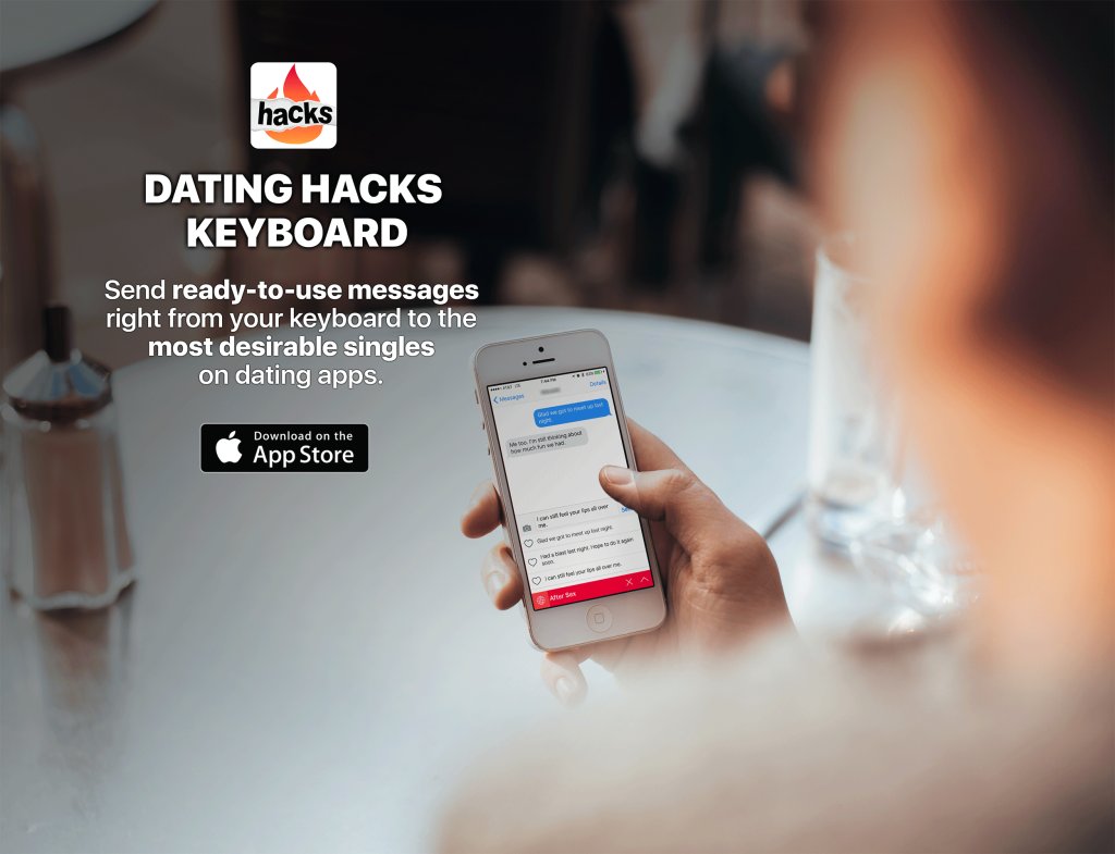 dating hacks app
