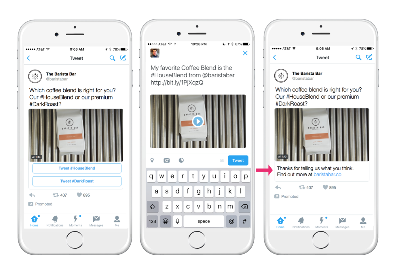 New Conversational Twitter Ads Make It Easier To Spread Campaign ...