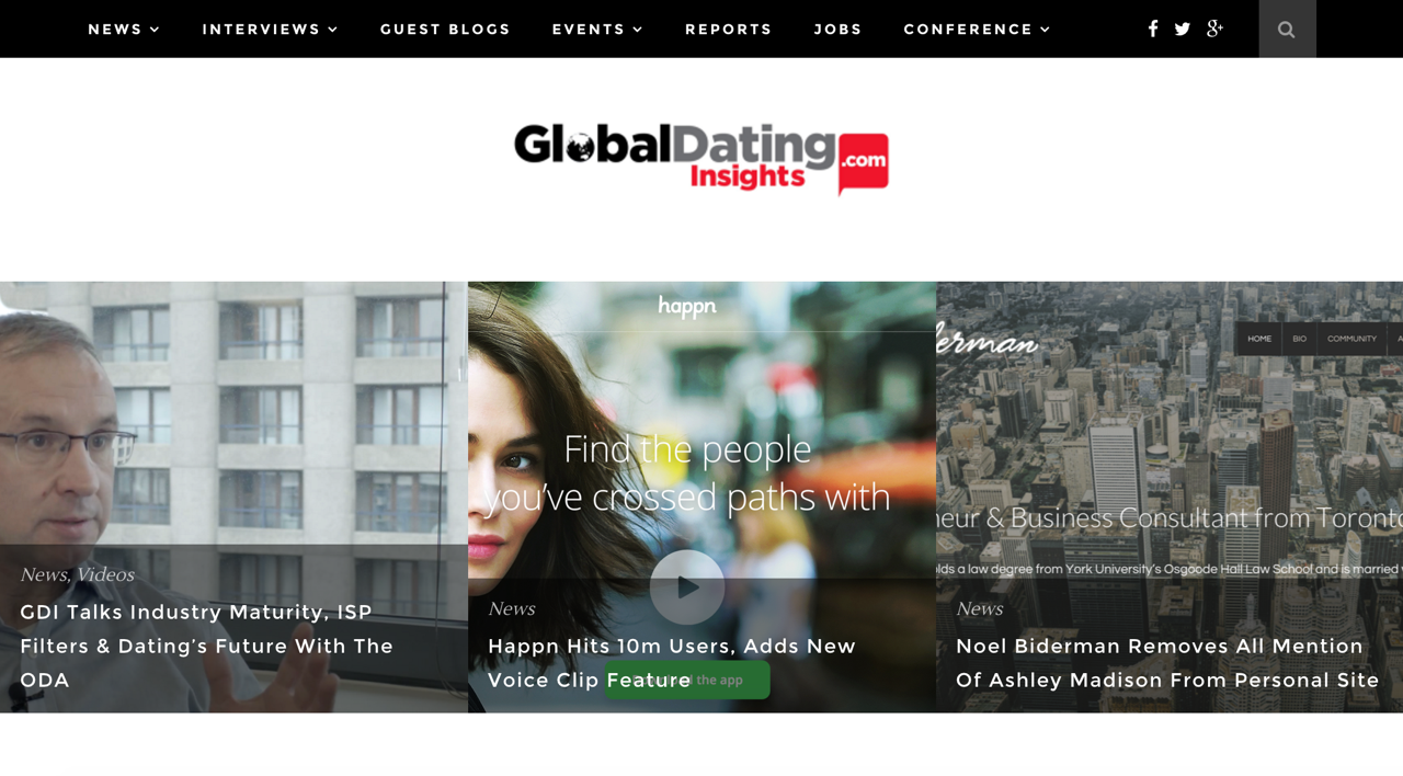 dating website conference