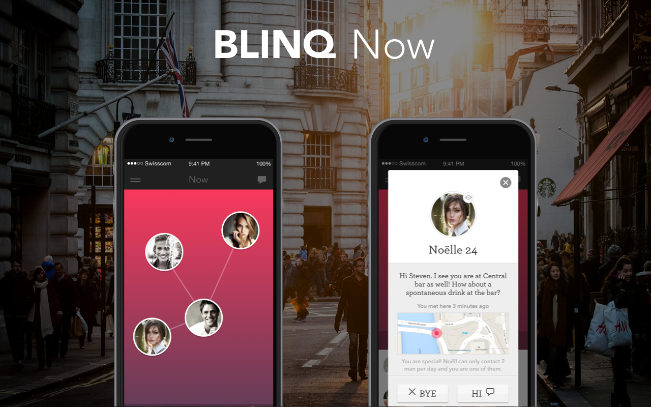 "Blinq Teams Up With Swiss Proximity Startup To Build ""Now"" Feature"