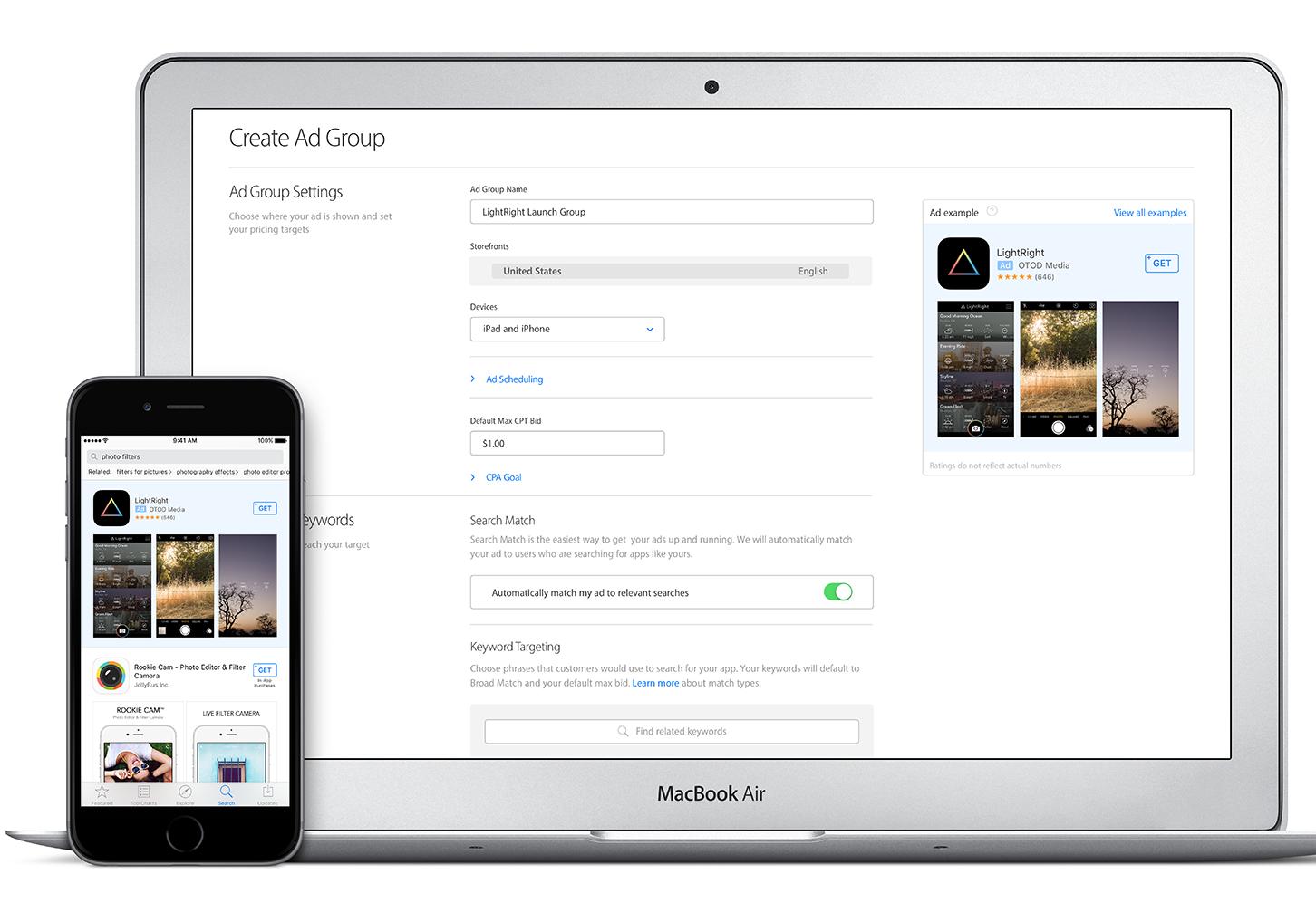 search apple app store