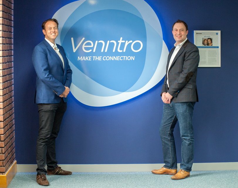 Ross Williams Becomes Chairman Of Venntro As Co-founder Steve Pammenter Takes CEO Role