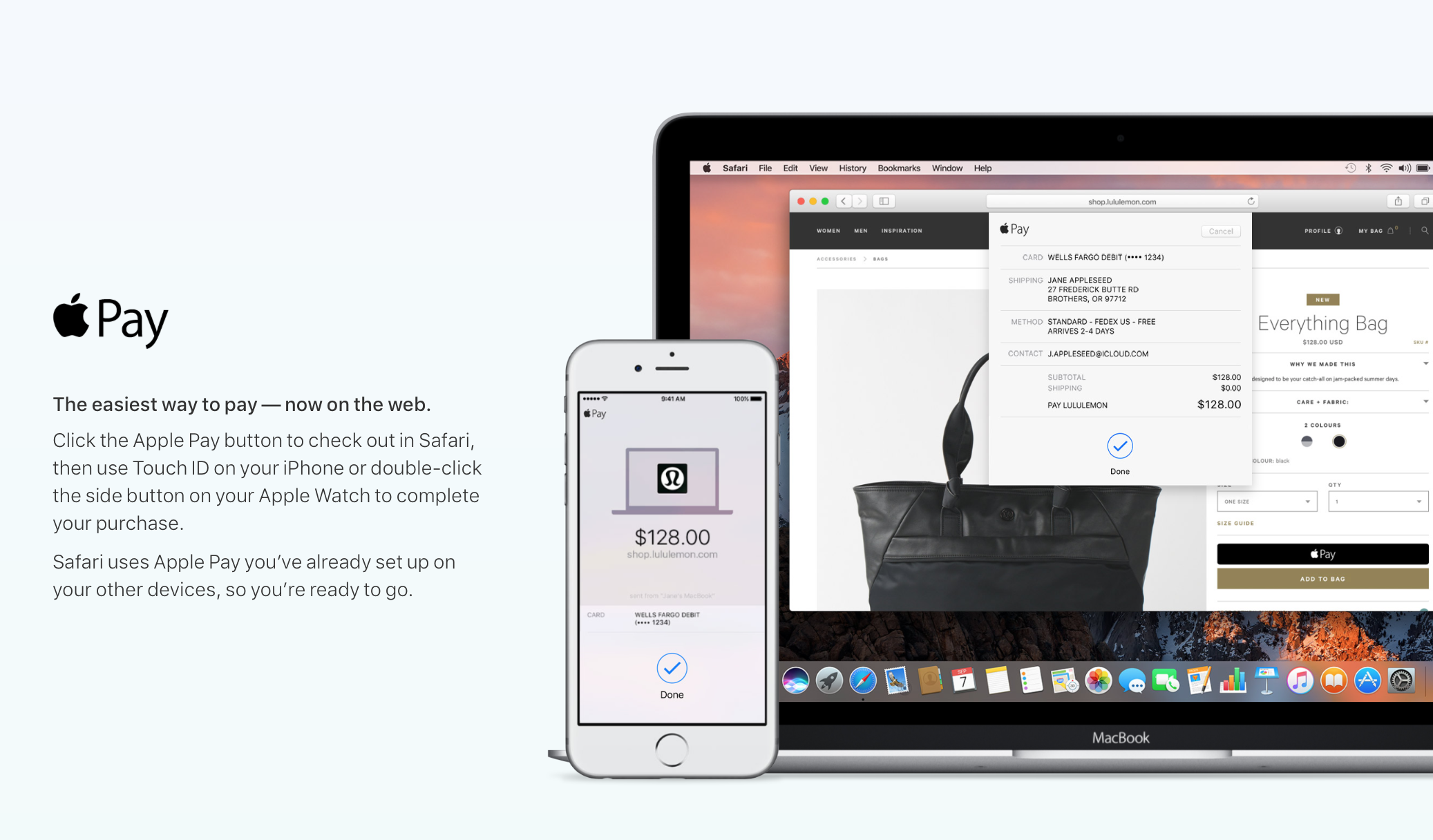 Apple Starts Rolling Out Apple Pay On Desktop