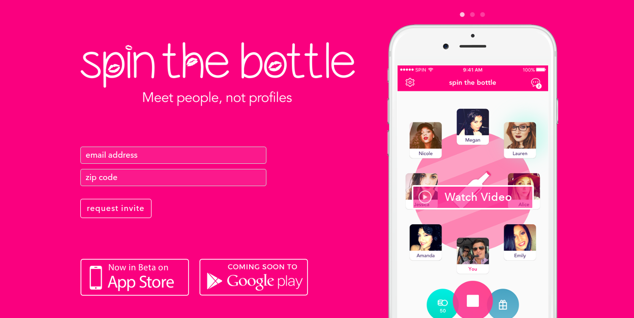 spin the bottle dating site