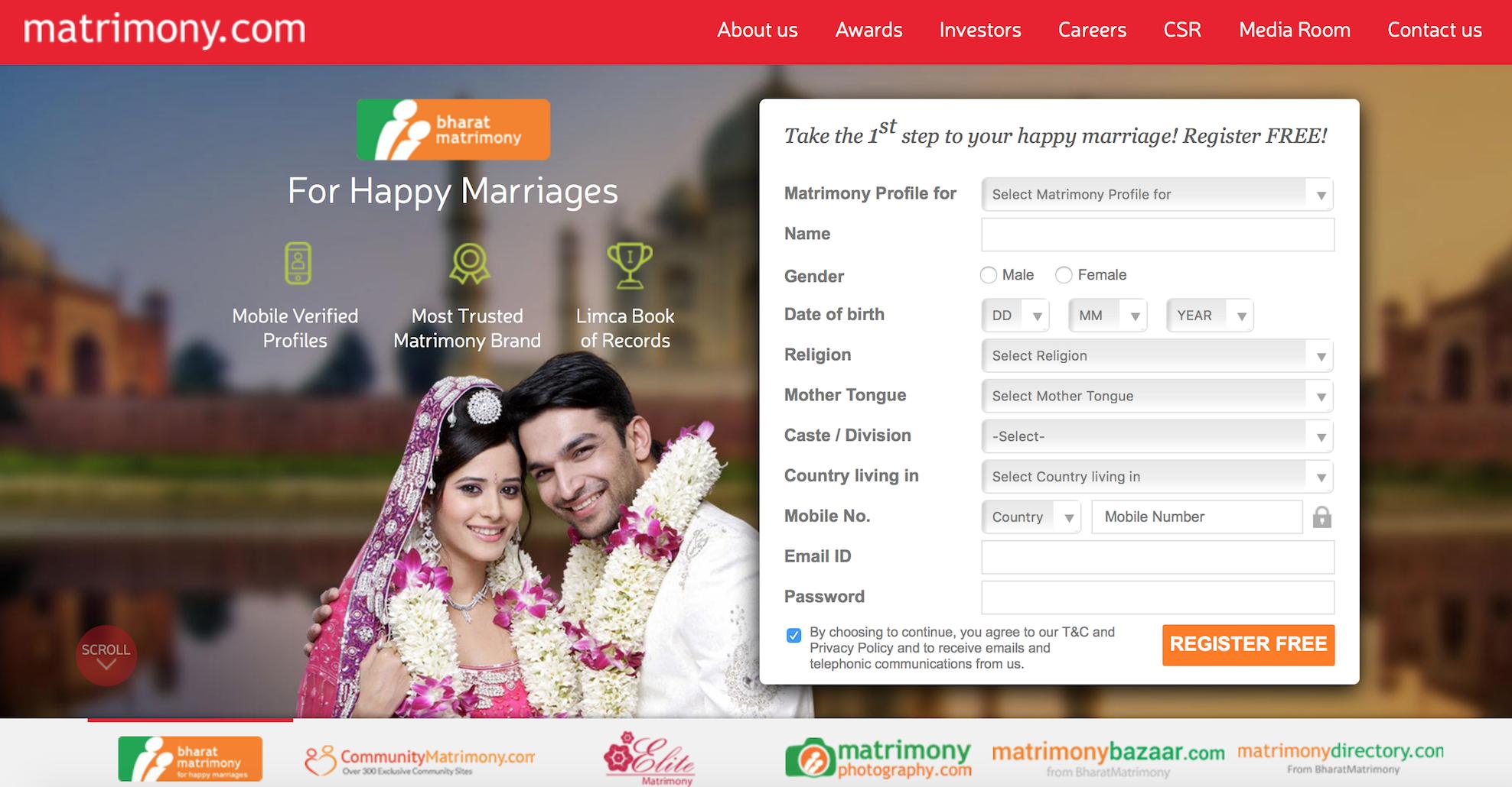 Matrimony ipo issue size