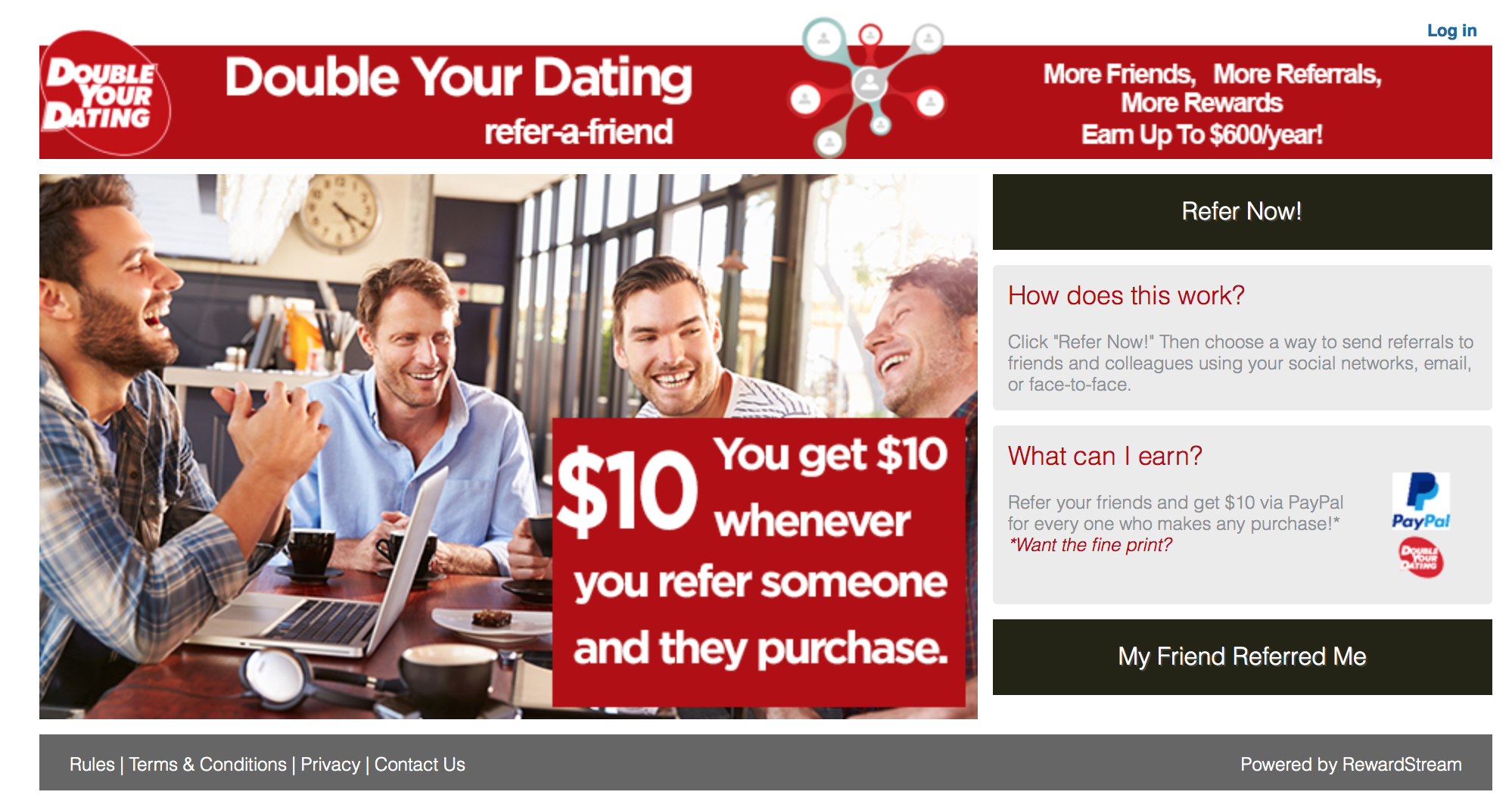 Dating Advice Site Double Your Dating Chooses RewardStream For New Referral Scheme