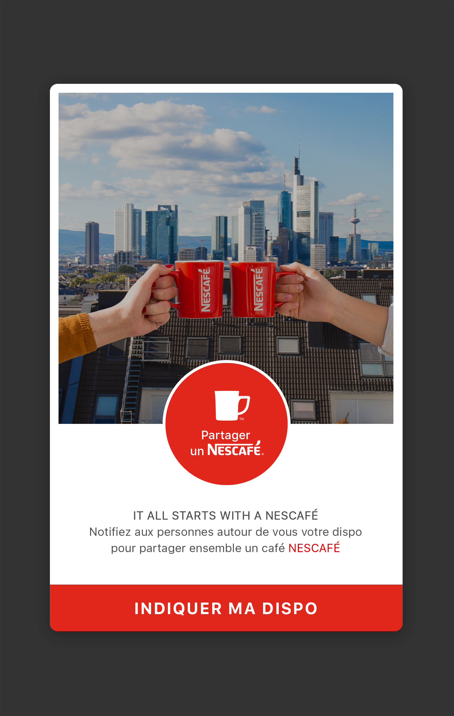 Nescafe Happn