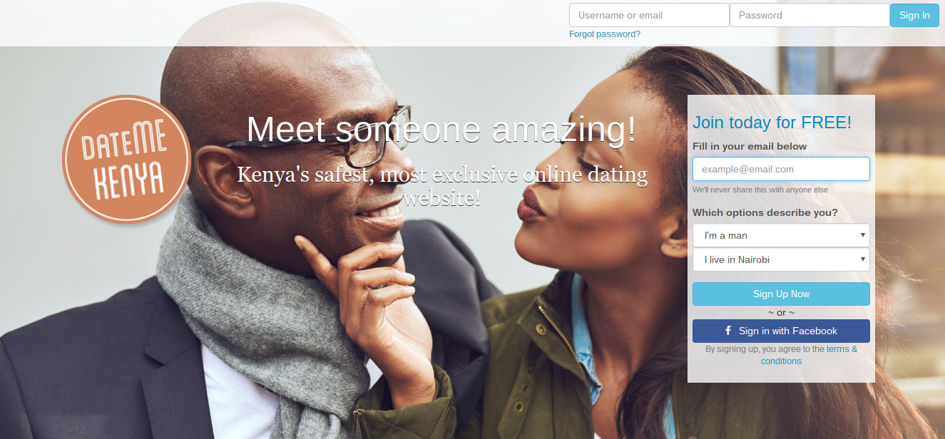 internet dating nairobi