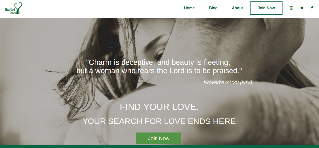Grafted Love Wants To Offer Christians An Alternative To Tinder