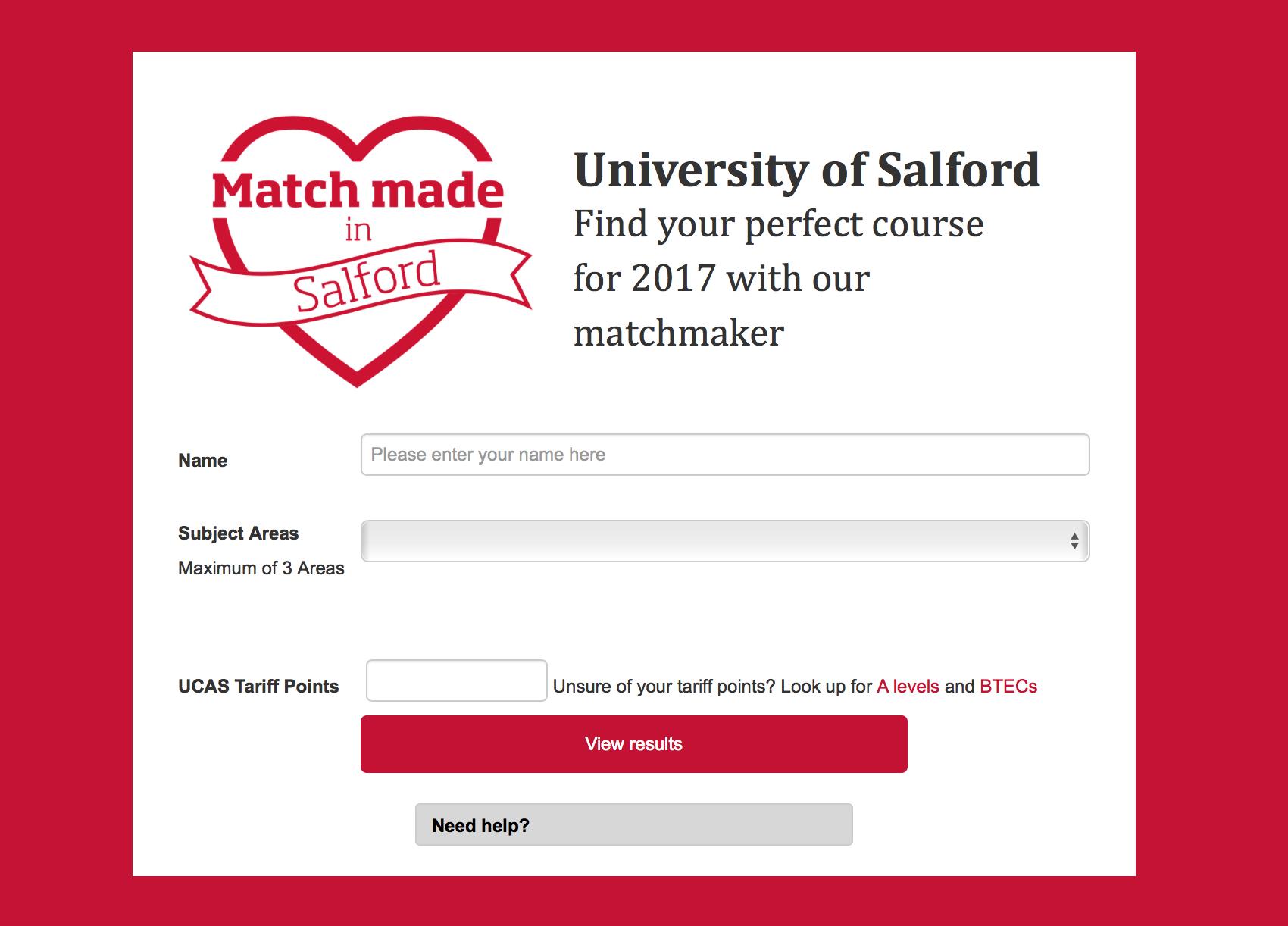Online dating namen