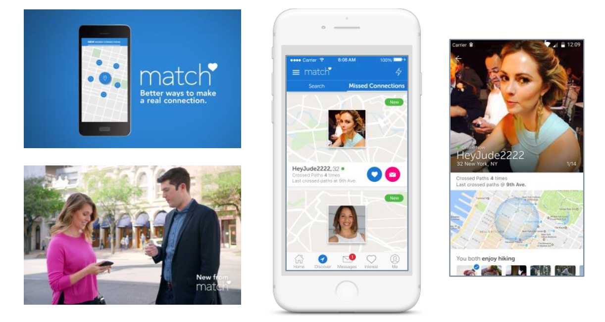 Match.com missed connections
