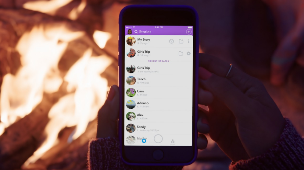 Snapchat Now Lets Users Create Group Stories