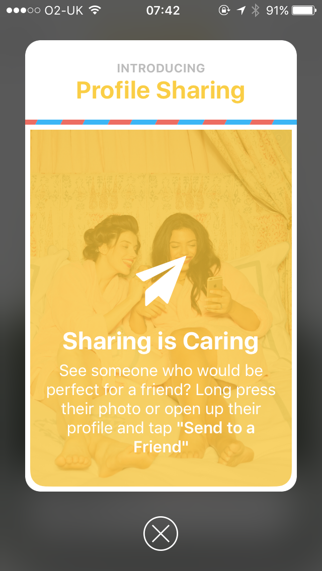 Bumble Now Lets You Share Profiles With A Friend - Global