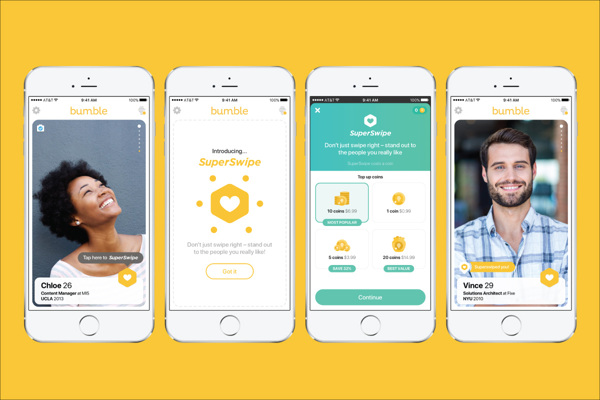 Bumble's New Paid SuperSwipe Feature Is Being Rolled Out Now