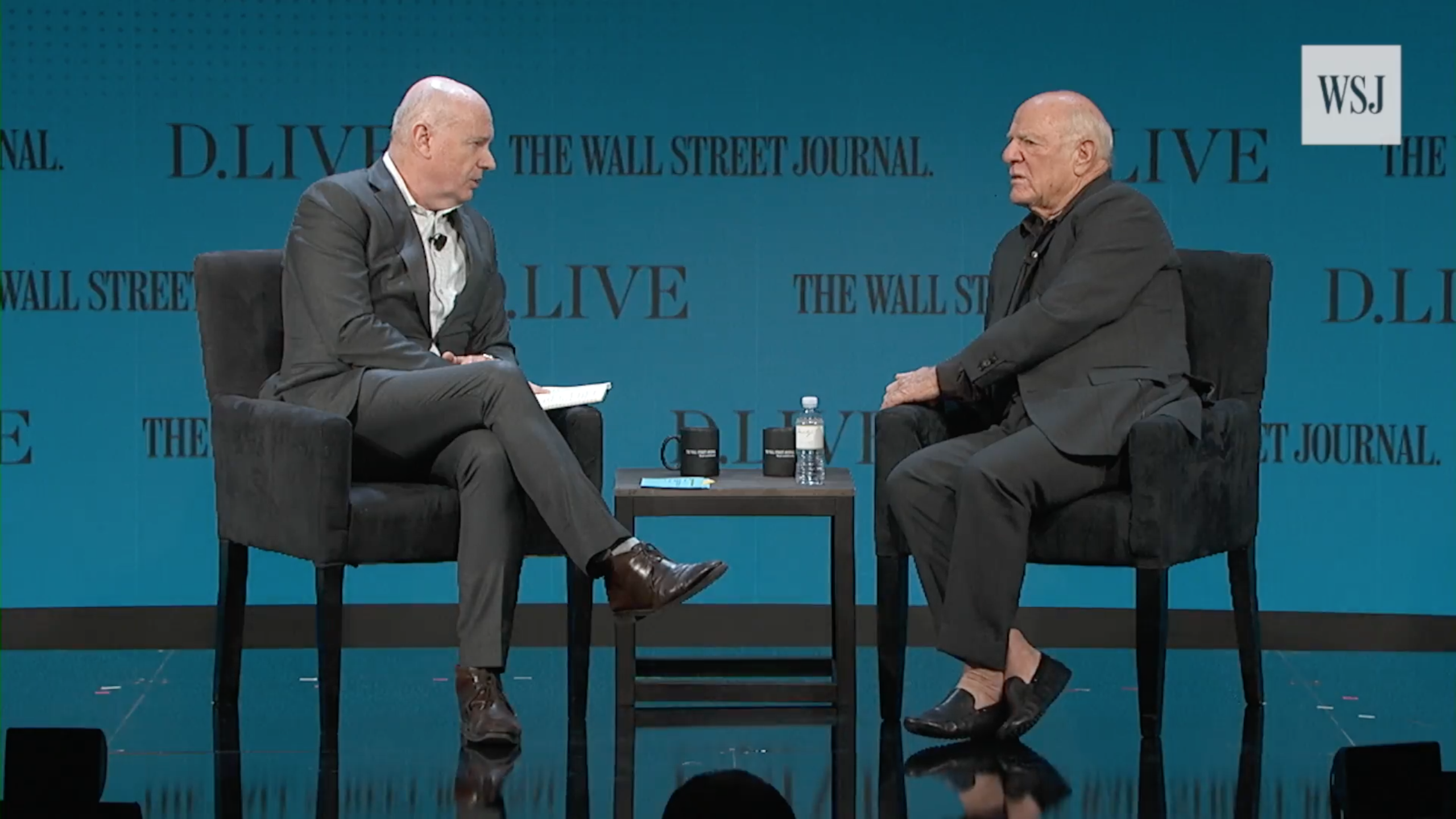 Barry Diller Talks 'Wildly Speculative' Tech Valuations At Wall Street Journal Conference