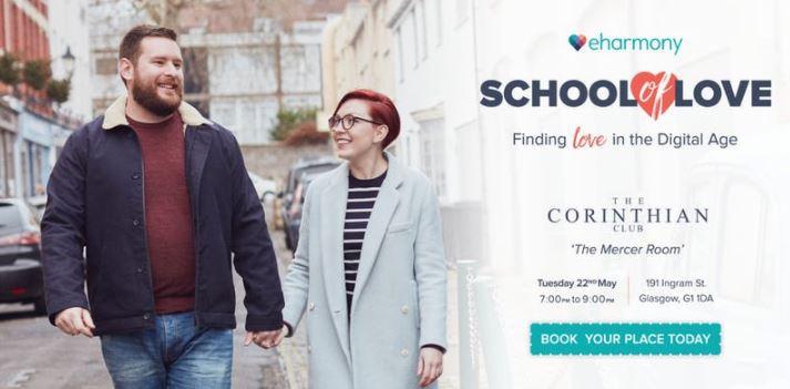 eHarmony to Host Dating Masterclass in Glasgow