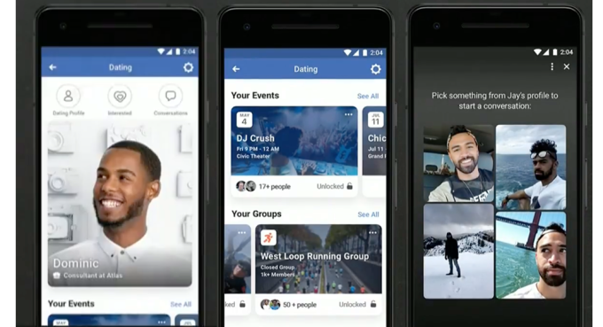 Screenshots of Facebook's 'Dating Home' Feature Set to Launch