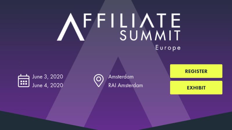 Affiliate Summit Europe, Amsterdam