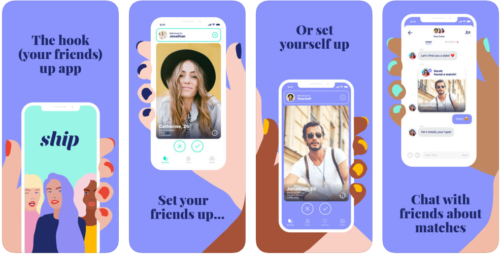 Friend-Based Dating App Ship Adds Feature to Share Favourite TV Shows