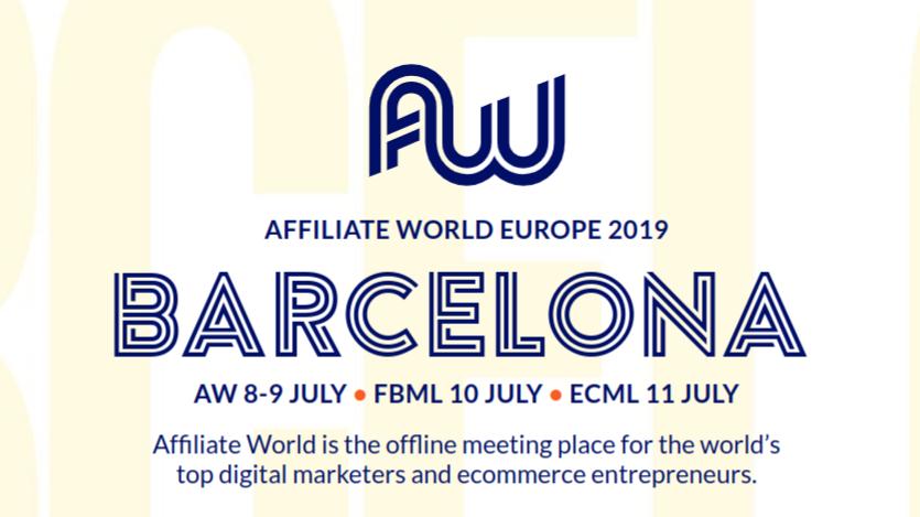 Affiliate World Europe 2019, Barcelona, Spain