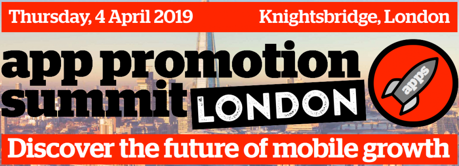 App Promotion Summit, London