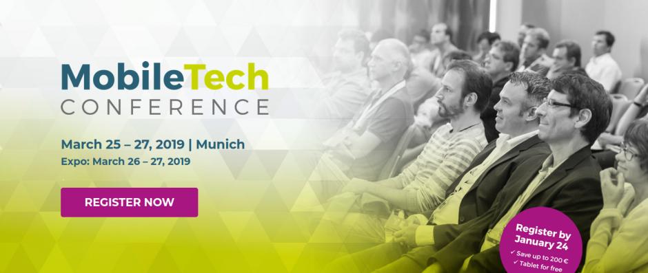 Mobile Tech Conference, Munich