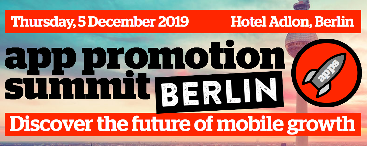 App Promotion Summit, Berlin