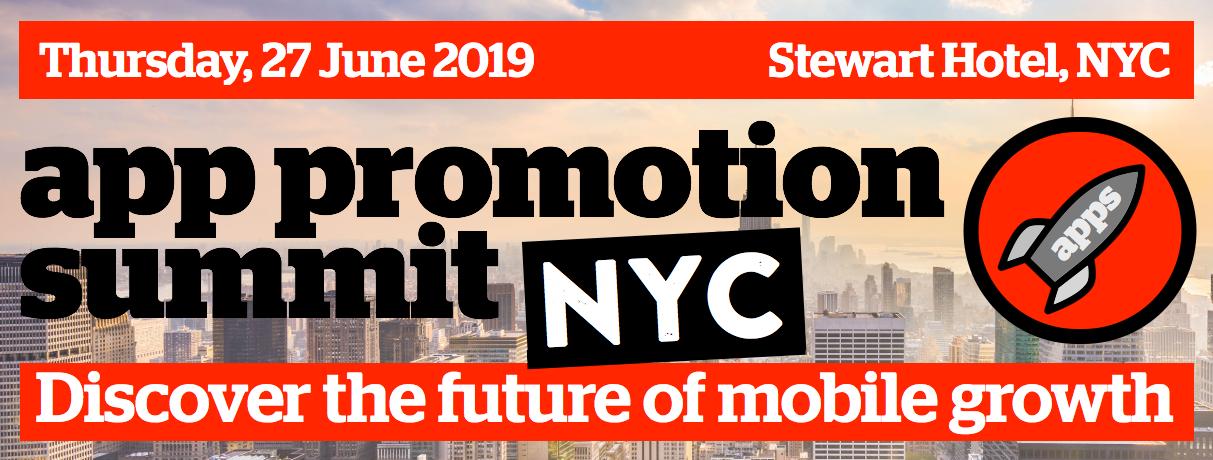 App Promotion Summit, New York City