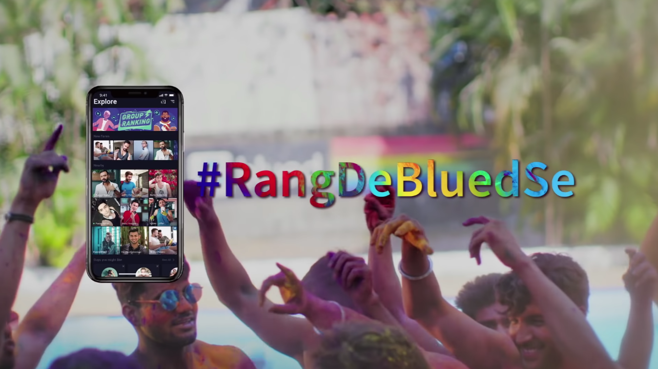 Blued Video Celebrates Holi Festival and LGBTQ Community