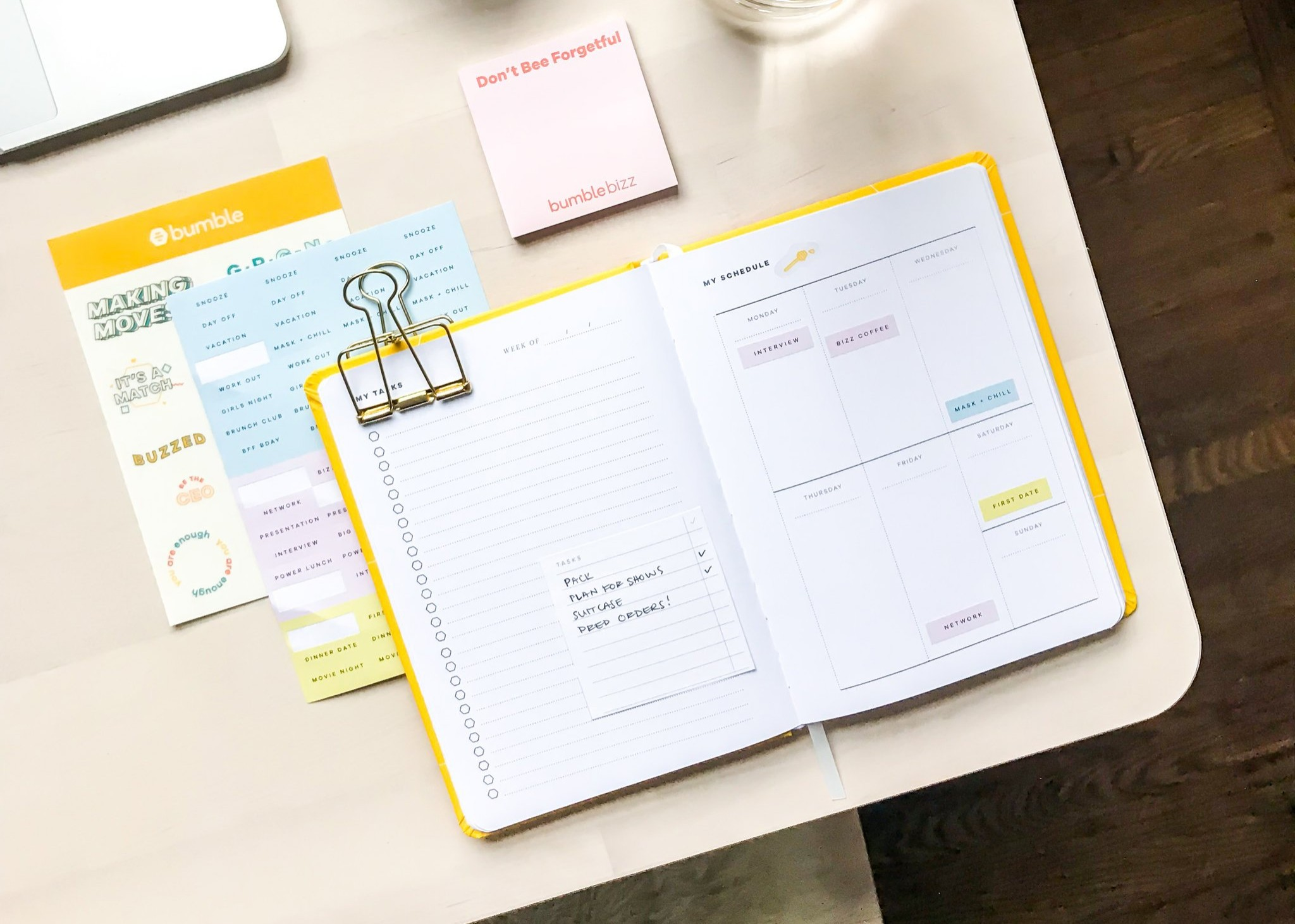 Bumble Creates Range of Organisational Products