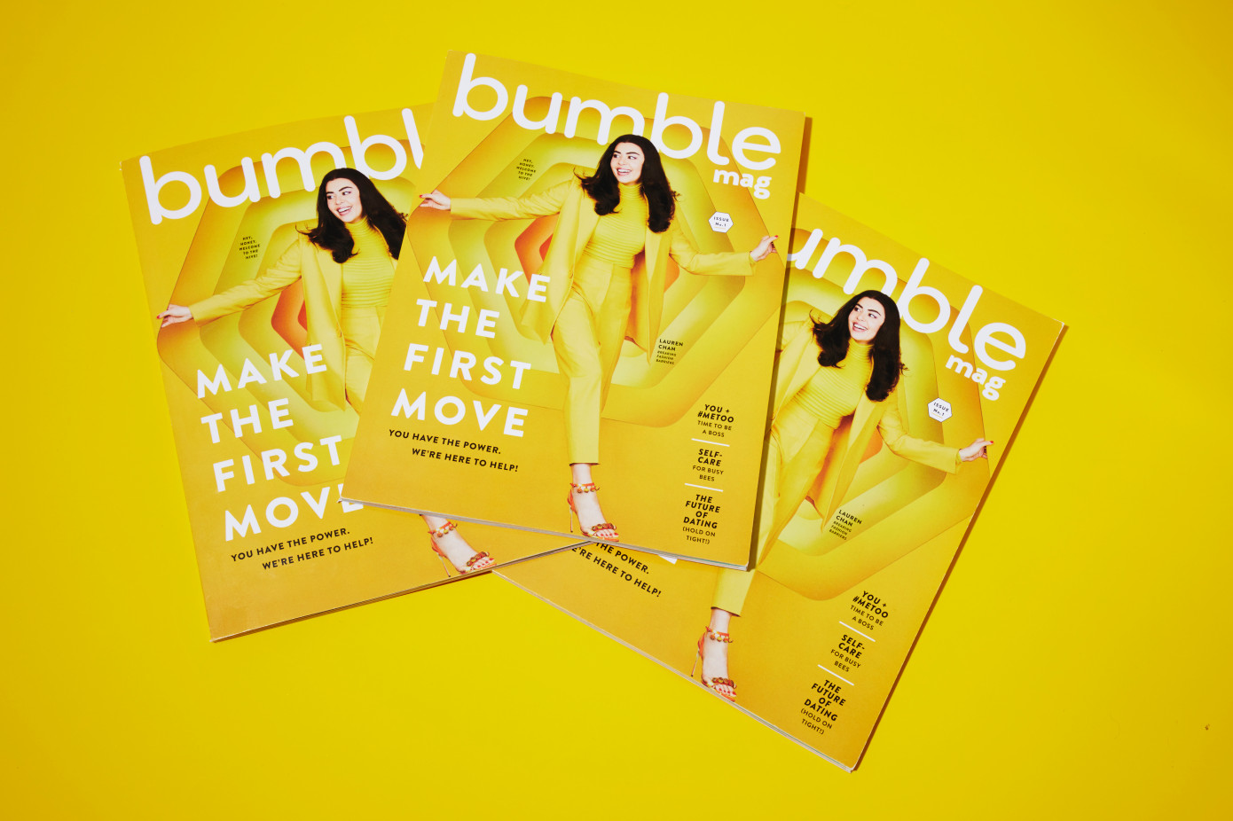 Bumble Launches Print Magazine 'Bumble Mag'