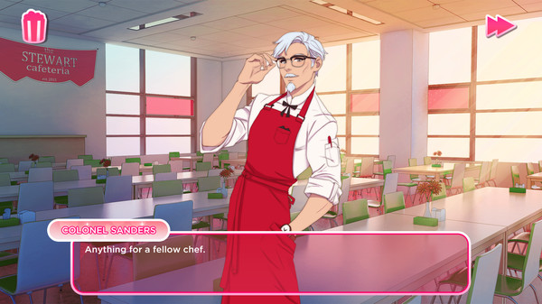KFC Creates Anime-Style Dating Simulator