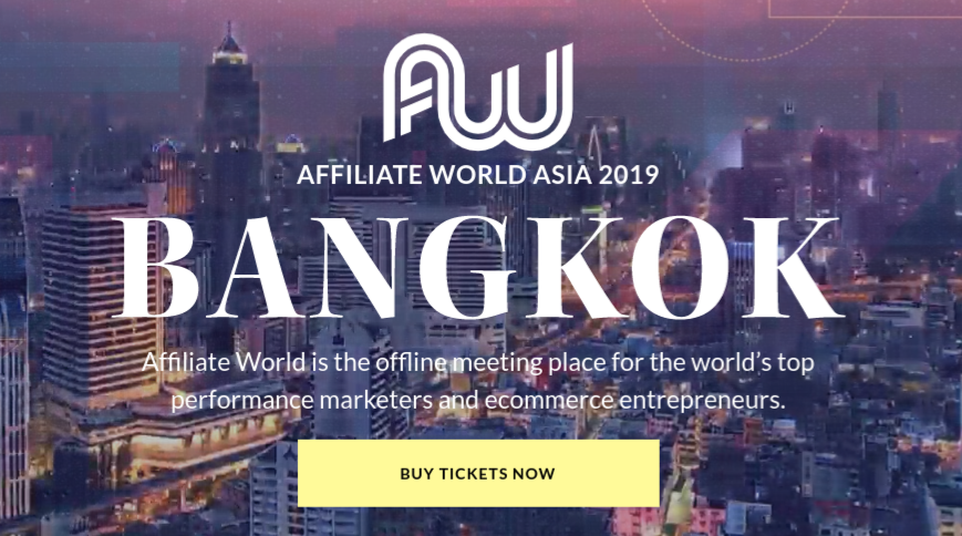 Affiliate World Asia, Bangkok