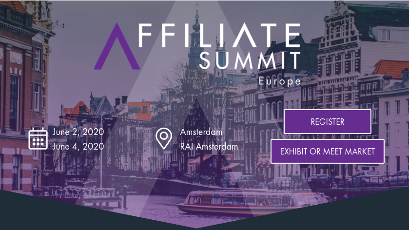 Affiliate Summit Europe, Amsterdam