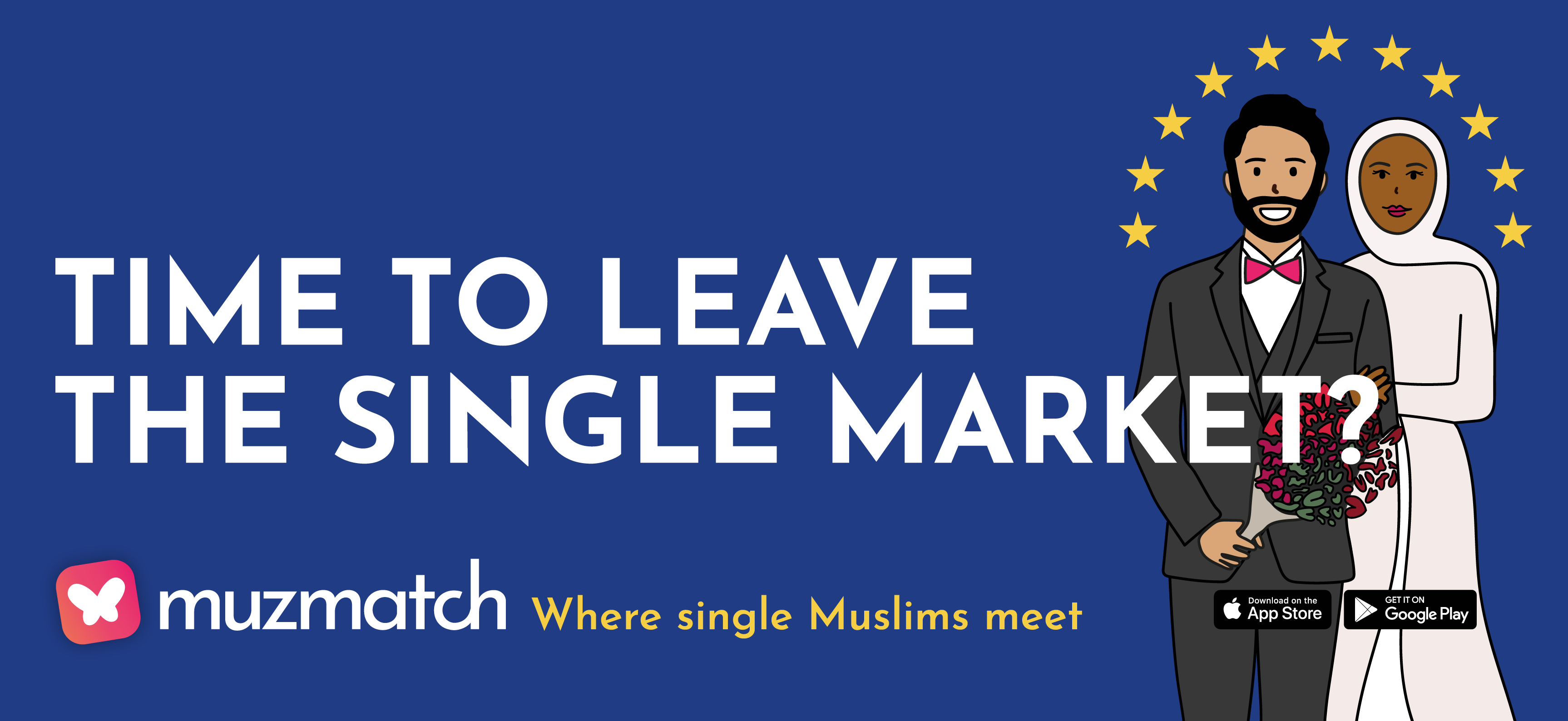 muzmatch Launches Brexit-Themed London Underground Ads