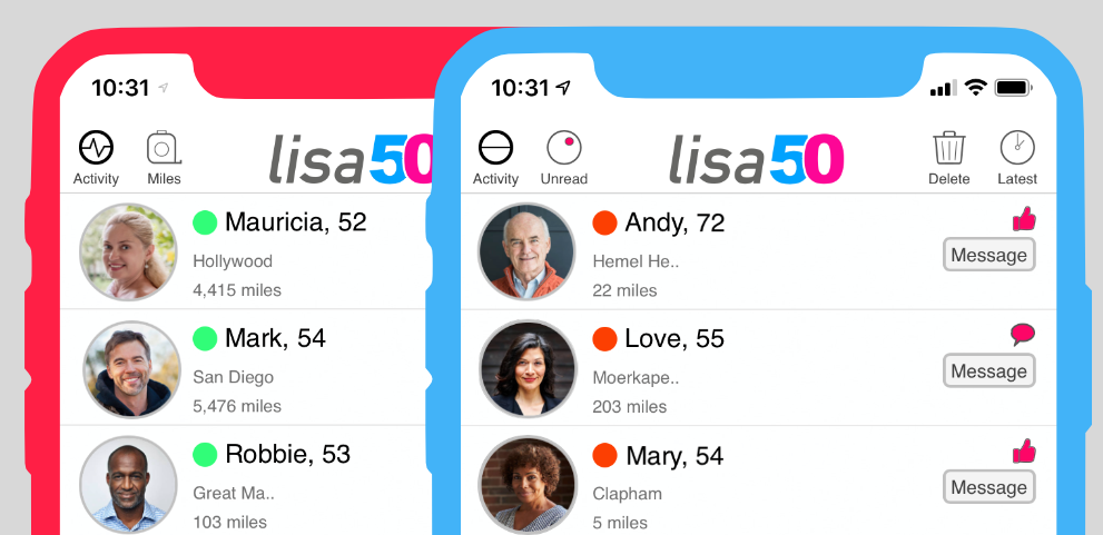 Lisa50 Data Shows Engagement Benefits from 'Activity' Sorting