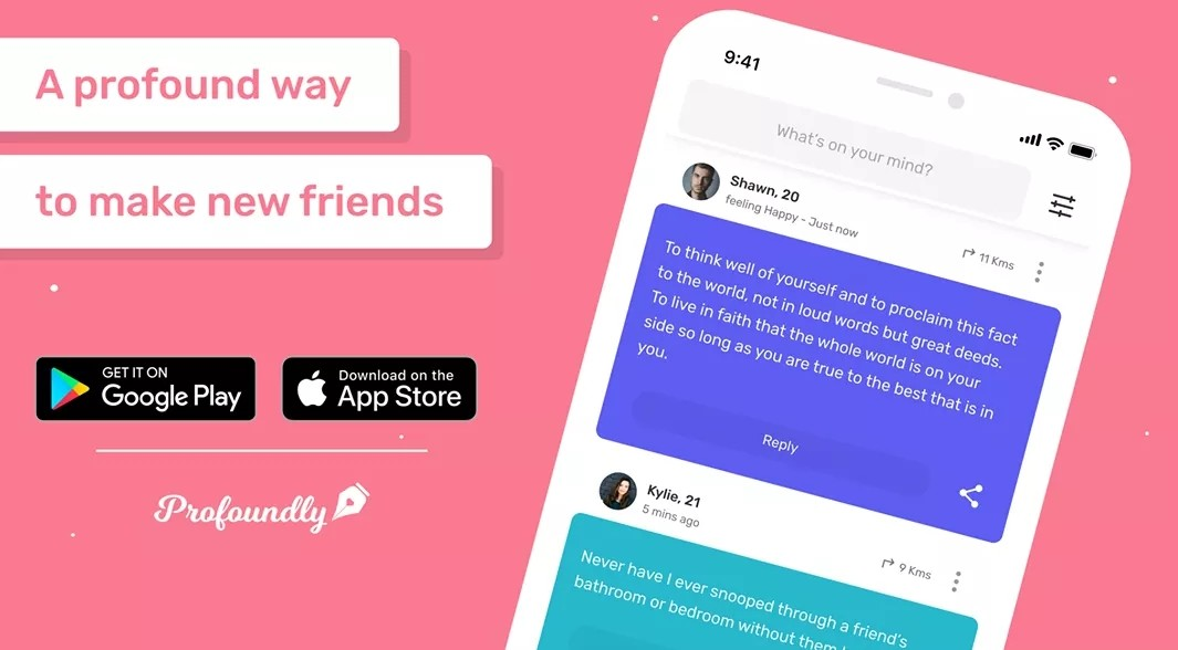 Anonymous Messaging App 'Profoundly' Grows US Popularity