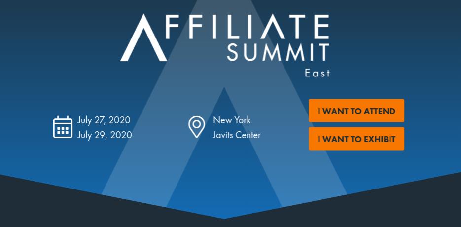 Affiliate Summit East – New York City, New York