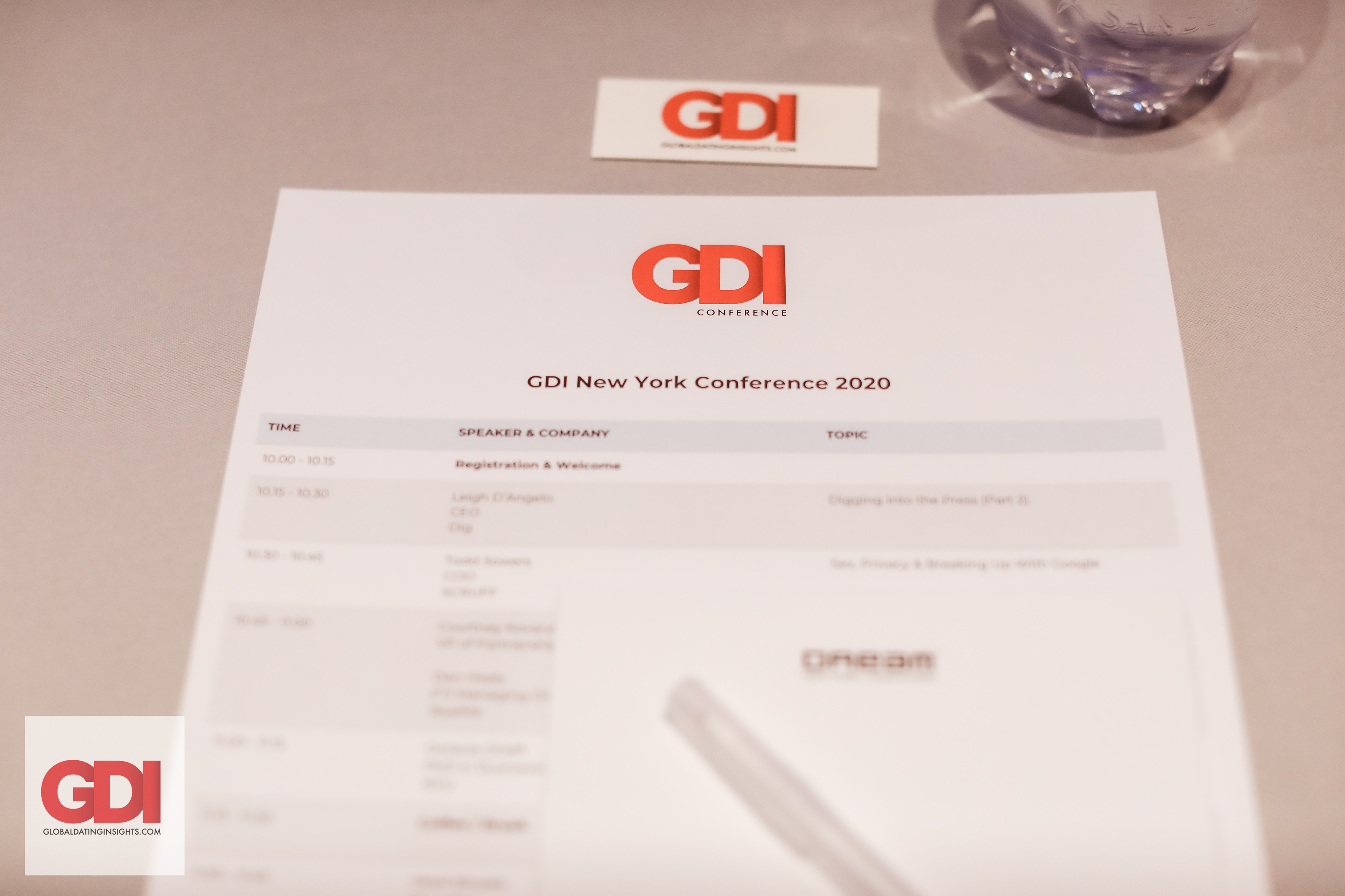 GDI Singapore and Los Angeles Conferences Postponed